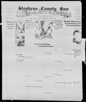 Primary view of object titled 'Stephens County Sun (Breckenridge, Tex.), Vol. 9, No. 36, Ed. 1, Thursday, March 9, 1939'.