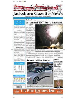 Primary view of object titled 'Jacksboro Gazette-News (Jacksboro, Tex.), Vol. 133, No. 4, Ed. 1 Tuesday, July 3, 2012'.