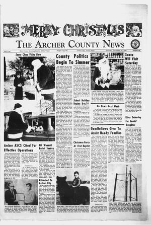 Primary view of object titled 'The Archer County News (Archer City, Tex.), Vol. 55, No. 49, Ed. 1 Thursday, December 18, 1969'.