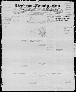 Primary view of object titled 'Stephens County Sun (Breckenridge, Tex.), Vol. 10, No. 24, Ed. 1, Thursday, January 25, 1940'.