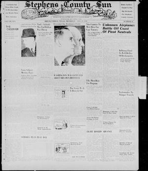 Primary view of object titled 'Stephens County Sun (Breckenridge, Tex.), Vol. 10, No. 28, Ed. 1, Thursday, February 22, 1940'.