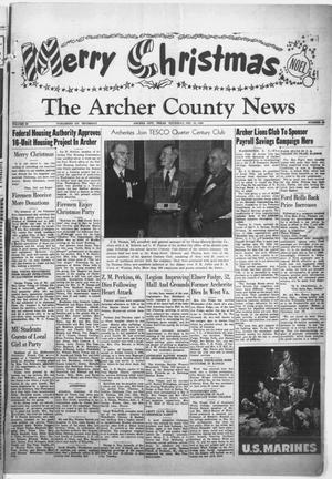 Primary view of object titled 'The Archer County News (Archer City, Tex.), Vol. 36, No. 52, Ed. 1 Thursday, December 21, 1950'.