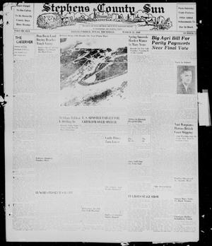 Primary view of object titled 'Stephens County Sun (Breckenridge, Tex.), Vol. 10, No. 32, Ed. 1, Thursday, March 21, 1940'.