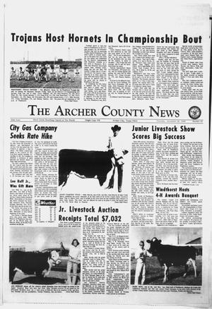 Primary view of object titled 'The Archer County News (Archer City, Tex.), Vol. 55, No. 45, Ed. 1 Thursday, November 20, 1969'.