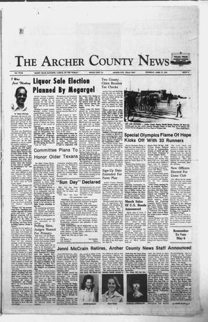 Primary view of object titled 'The Archer County News (Archer City, Tex.), Vol. 61, No. 17, Ed. 1 Thursday, April 27, 1978'.