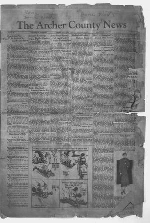 Primary view of object titled 'The Archer County News (Archer City, Tex.), Vol. 22, No. 24, Ed. 1 Thursday, December 29, 1932'.
