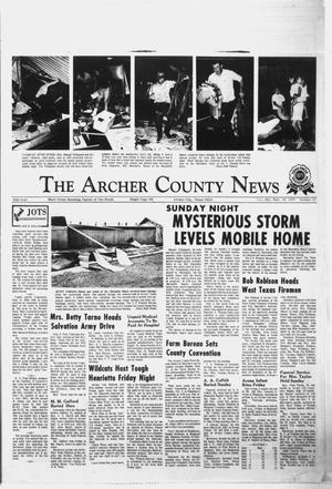 Primary view of object titled 'The Archer County News (Archer City, Tex.), Vol. 55, No. 37, Ed. 1 Thursday, September 14, 1972'.