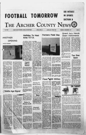 Primary view of object titled 'The Archer County News (Archer City, Tex.), Vol. 61, No. 36, Ed. 1 Thursday, September 7, 1978'.