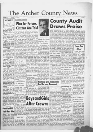 Primary view of object titled 'The Archer County News (Archer City, Tex.), Vol. 48, No. 7, Ed. 1 Thursday, February 15, 1962'.