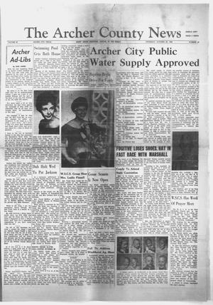Primary view of object titled 'The Archer County News (Archer City, Tex.), Vol. 45, No. 45, Ed. 1 Thursday, October 29, 1959'.