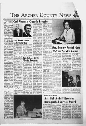 Primary view of object titled 'The Archer County News (Archer City, Tex.), Vol. 57, No. 27, Ed. 1 Thursday, July 8, 1971'.