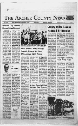 Primary view of object titled 'The Archer County News (Archer City, Tex.), Vol. 61, No. 25, Ed. 1 Thursday, June 22, 1978'.
