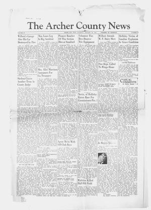 Primary view of object titled 'The Archer County News (Archer City, Tex.), Vol. 29, No. 18, Ed. 1 Thursday, January 25, 1940'.