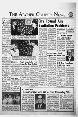 Primary view of object titled 'The Archer County News (Archer City, Tex.), Vol. 57, No. 15, Ed. 1 Thursday, April 15, 1971'.