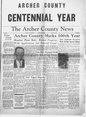 Primary view of object titled 'The Archer County News (Archer City, Tex.), Vol. 44, No. 51, Ed. 1 Thursday, December 4, 1958'.