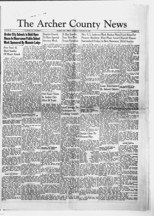 Primary view of object titled 'The Archer County News (Archer City, Tex.), Vol. 39, No. 10, Ed. 1 Thursday, February 26, 1953'.