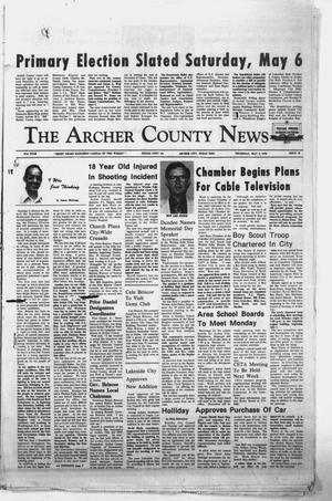 Primary view of object titled 'The Archer County News (Archer City, Tex.), Vol. 61, No. 18, Ed. 1 Thursday, May 4, 1978'.