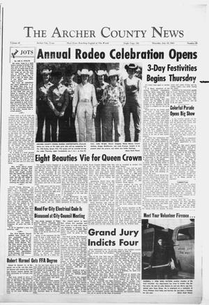 Primary view of object titled 'The Archer County News (Archer City, Tex.), Vol. 49, No. 29, Ed. 1 Thursday, July 18, 1963'.