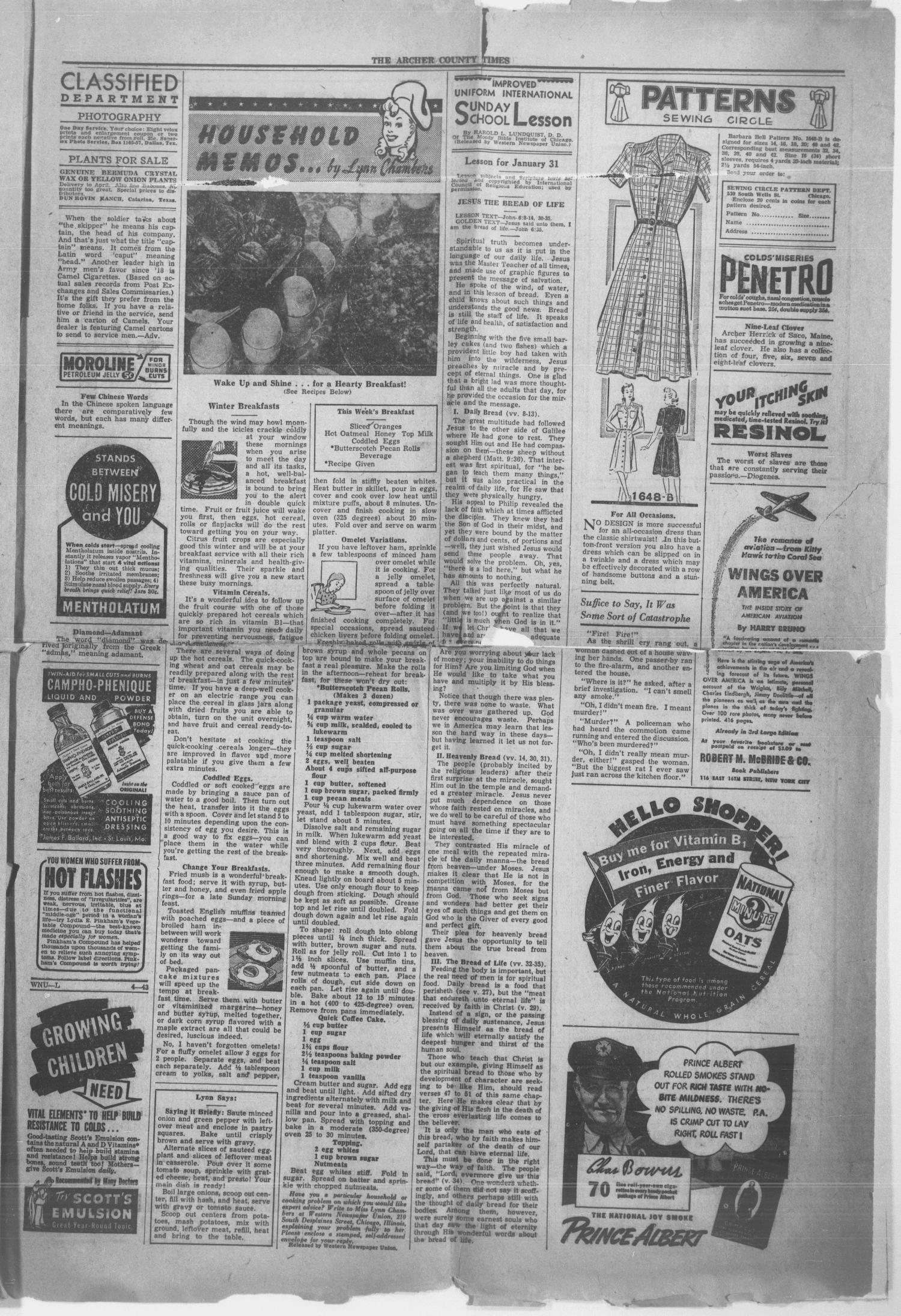 The Archer County Times (Archer City, Tex ), Vol  18, No  30