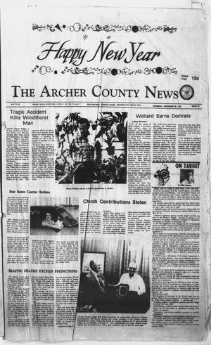 Primary view of object titled 'The Archer County News (Archer City, Tex.), Vol. 61, No. 52, Ed. 1 Thursday, December 28, 1978'.