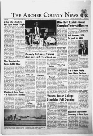 Primary view of object titled 'The Archer County News (Archer City, Tex.), Vol. 55, No. 10, Ed. 1 Thursday, March 9, 1972'.