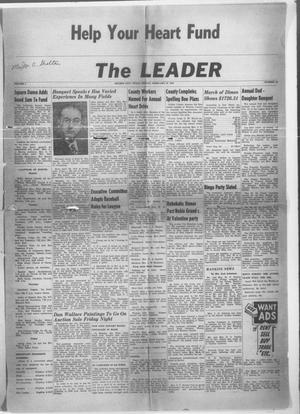 Primary view of object titled 'The Leader (Archer City, Tex.), Vol. 1, No. 25, Ed. 1 Friday, February 18, 1955'.