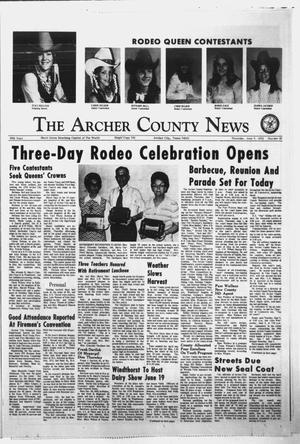 Primary view of object titled 'The Archer County News (Archer City, Tex.), Vol. 56, No. 23, Ed. 1 Thursday, June 7, 1973'.