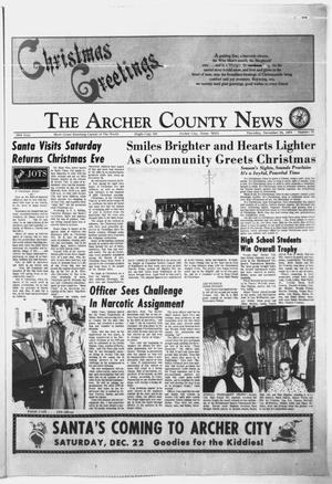 Primary view of object titled 'The Archer County News (Archer City, Tex.), Vol. 57, No. 1, Ed. 1 Thursday, December 20, 1973'.