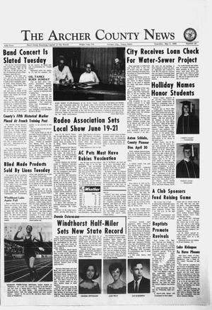 Primary view of object titled 'The Archer County News (Archer City, Tex.), Vol. 55, No. 18, Ed. 1 Thursday, May 8, 1969'.