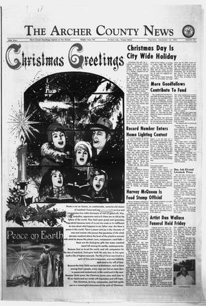 Primary view of object titled 'The Archer County News (Archer City, Tex.), Vol. 56, No. 52, Ed. 1 Thursday, December 24, 1970'.