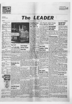 Primary view of object titled 'The Leader (Archer City, Tex.), Vol. 1, No. 30, Ed. 1 Friday, March 25, 1955'.