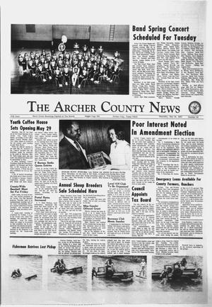Primary view of object titled 'The Archer County News (Archer City, Tex.), Vol. 57, No. 19, Ed. 1 Thursday, May 13, 1971'.