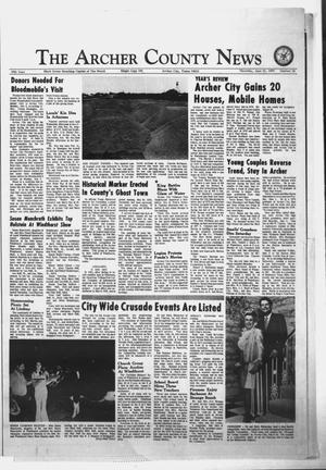 Primary view of object titled 'The Archer County News (Archer City, Tex.), Vol. 56, No. 25, Ed. 1 Thursday, June 21, 1973'.