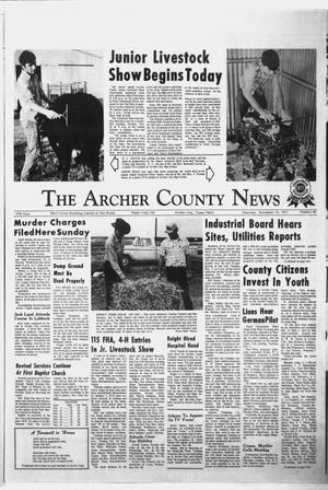 Primary view of object titled 'The Archer County News (Archer City, Tex.), Vol. 57, No. 46, Ed. 1 Thursday, November 18, 1971'.