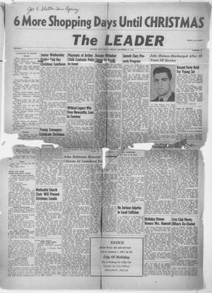 Primary view of object titled 'The Leader (Archer City, Tex.), Vol. 1, No. 16, Ed. 1 Friday, December 17, 1954'.