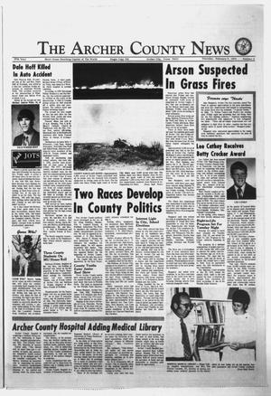 Primary view of object titled 'The Archer County News (Archer City, Tex.), Vol. 57, No. 6, Ed. 1 Thursday, February 7, 1974'.