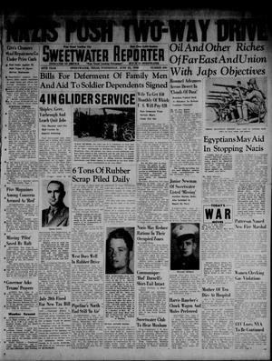 Primary view of object titled 'Sweetwater Reporter (Sweetwater, Tex.), Vol. 45, No. 280, Ed. 1 Wednesday, June 24, 1942'.