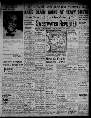 Primary view of object titled 'Sweetwater Reporter (Sweetwater, Tex.), Vol. 45, No. 103, Ed. 1 Sunday, September 28, 1941'.