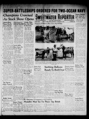 Primary view of object titled 'Sweetwater Reporter (Sweetwater, Tex.), Vol. 44, No. 264, Ed. 1 Thursday, March 20, 1941'.
