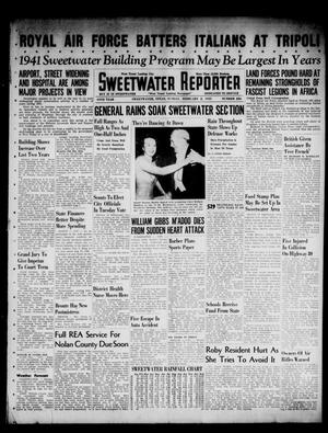 Primary view of object titled 'Sweetwater Reporter (Sweetwater, Tex.), Vol. 44, No. 226, Ed. 1 Sunday, February 2, 1941'.