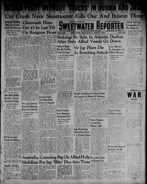 Primary view of object titled 'Sweetwater Reporter (Sweetwater, Tex.), Vol. 45, Ed. 1 Monday, March 9, 1942'.