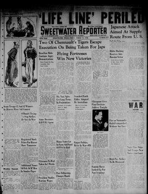Primary view of object titled 'Sweetwater Reporter (Sweetwater, Tex.), Vol. 45, No. 214, Ed. 1 Friday, March 13, 1942'.