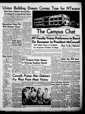 Primary view of object titled 'The Campus Chat (Denton, Tex.), Vol. 31, No. 27, Ed. 1 Friday, May 14, 1948'.