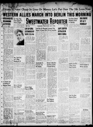 Primary view of object titled 'Sweetwater Reporter (Sweetwater, Tex.), Vol. 48, No. 156, Ed. 1 Sunday, July 1, 1945'.