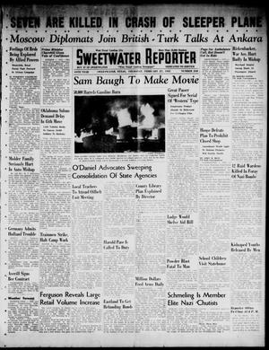 Primary view of object titled 'Sweetwater Reporter (Sweetwater, Tex.), Vol. 44, No. 248, Ed. 1 Thursday, February 27, 1941'.