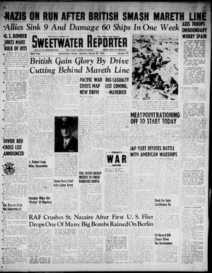 Primary view of object titled 'Sweetwater Reporter (Sweetwater, Tex.), Vol. 46, No. 79, Ed. 1 Monday, March 29, 1943'.