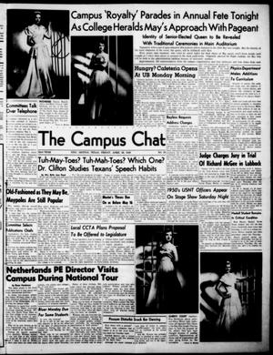 Primary view of object titled 'The Campus Chat (Denton, Tex.), Vol. 32, No. 29, Ed. 1 Friday, April 29, 1949'.