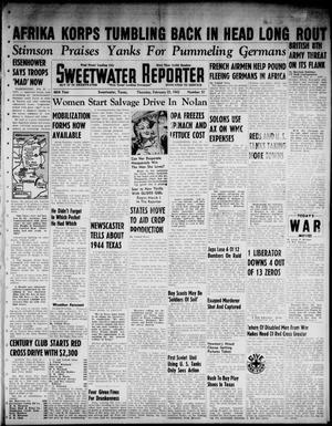 Primary view of object titled 'Sweetwater Reporter (Sweetwater, Tex.), Vol. 46, No. 51, Ed. 1 Thursday, February 25, 1943'.