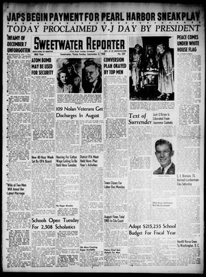 Primary view of object titled 'Sweetwater Reporter (Sweetwater, Tex.), Vol. 48, No. 207, Ed. 1 Sunday, September 2, 1945'.