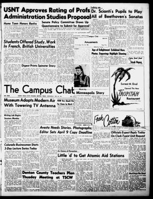 Primary view of object titled 'The Campus Chat (Denton, Tex.), Vol. 34, No. 33, Ed. 1 Wednesday, February 28, 1951'.